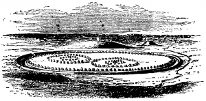 Avebury,_Stensättningen_i_ursprungligt_skick,_Nordisk_familjebok